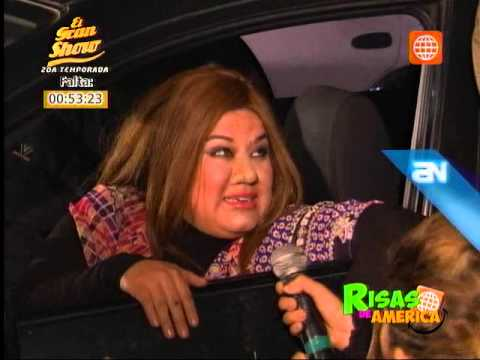Risas de América parodió el bochornoso incidente de la mujer ebria enamorada de Axl Rose