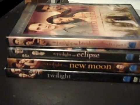 Twilight Series on DVD (