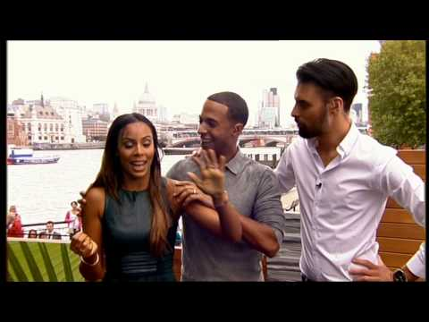 Rochelle & Marvin Humes - Ice Bucket Challenge - This Morning - 22nd August 2014
