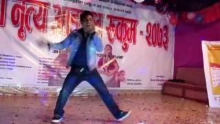 Shikhar Bhai dance rukum dance- by bijaya Avi shree