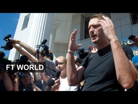 Navalny release: Putin stumbles