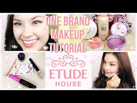 One Brand Korean Makeup Tutorial ♥ Etude House Plus Mini Reviews!