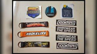 100 Kmph Accessories   Key Chain   Stickers