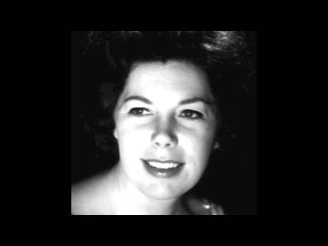 Janet Baker sings 'Morgen' by Richard Strauss (Pianist: Gerald Moore)