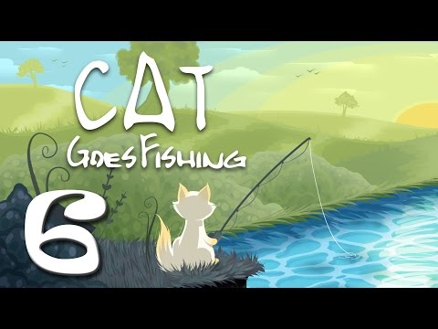 Cat Goes Fishing - Part 6 - CAT CATCHES A SHARK!