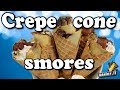Crepe Cone S'mores - Handle it