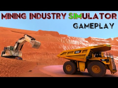 Mining Industry Simulator Basic Gameplay PC HD