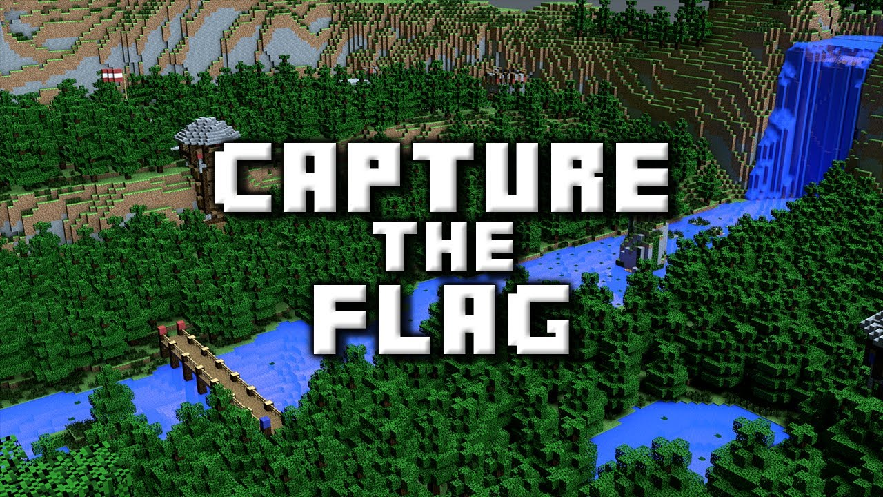 Capture the flag a minecraft pvp map youtube for Capture the flag