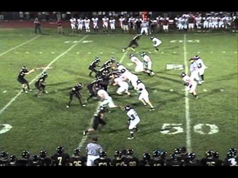 Xavier Jones (#77) vs. Holy Cross High School 2010 PART 1