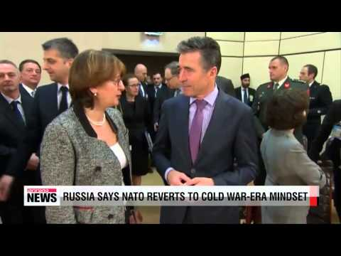 Russia accuses NATO of reverting to 'Cold War' mindset