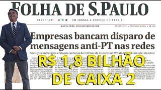 Fraude de Bolsonaro contra Haddad dá cana!
