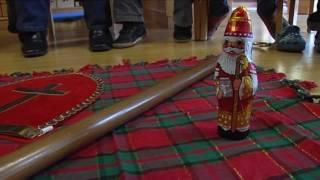 Süßer Bischof für Kinder - Heiliger Nikolaus aus Schokolade