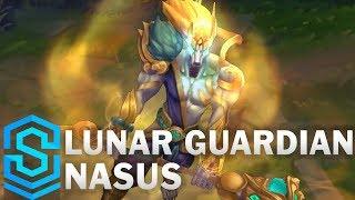 Lunar Guardian Nasus Skin Spotlight - Pre-Release - League of Legends