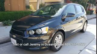 2014 Chevy Sonic used cars for sale in Oceanside