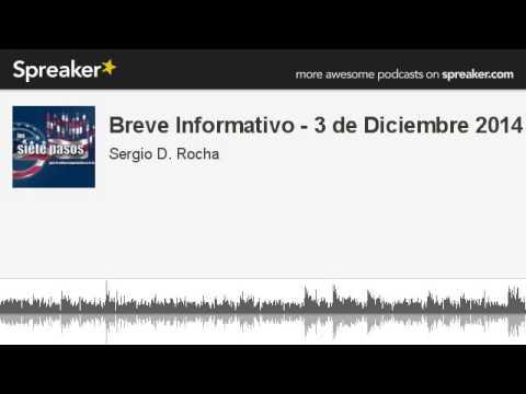 Breve Informativo - 3 de Diciembre 2014