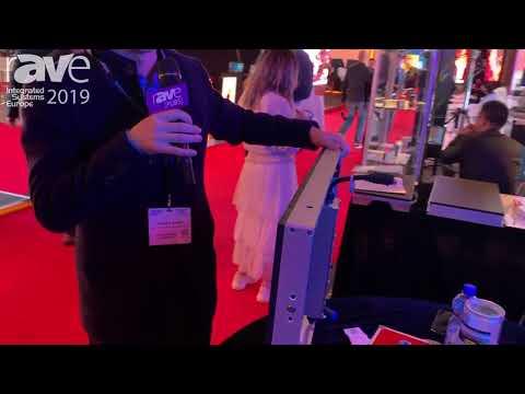 ISE 2019: TALKLED Shows Outdoor IP67 Waterproof LED Mesh Display