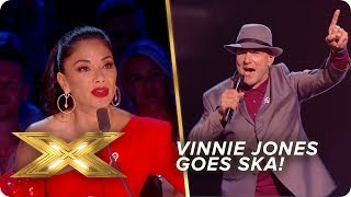 Vinnie Jones goes Ska with 'Lip Up Fatty' | Live Week 2 | X Factor: Celebrity