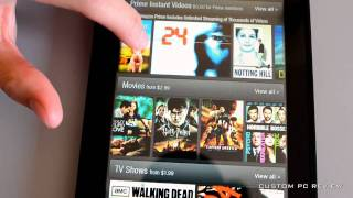 [Unboxing] Amazon Kindle Fire vs HP Touchpad Unboxing + First Look