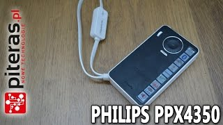 Pikoprojektor PHILIPS PPX 4350 Wireless - Recenzja - Test - Review PL