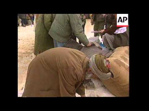 AFGHANISTAN: RED CROSS AID DISTRIBUTED TO EARTHQUAKE VICTIMS