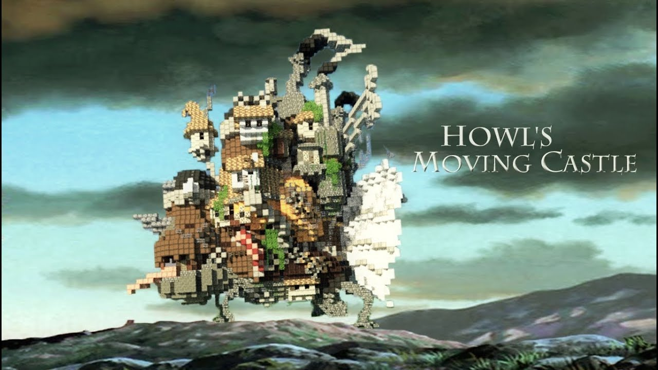 Minecraft Howl's Moving Castle - YouTube
