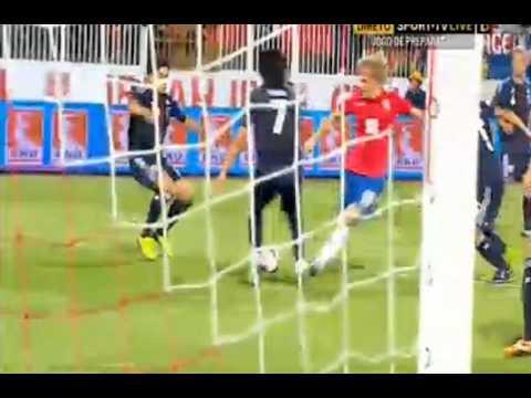 Tadic Goal - Serbia vs Japan 1-0 HQ Friendly Match 11.10.2013