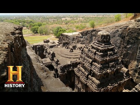 Ancient Aliens The Ellora Caves Season 12  Exclusive  History