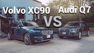 Volvo XC90 VS Audi Q7 - ¿Cuál es mejor compra? | Autocosmos