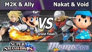 FOX MVG|Mew2King & C9|Ally vs. CLG|Nakat & CLG|Void - Wii U Doubles Grand Finals - Momocon 2017