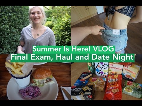 Summer is Here | Final Exam, Pointy Boobs and Saggy bum?! | VLOG thumbnail