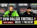 WCE 2018 College Football Week 7 Preview mp3