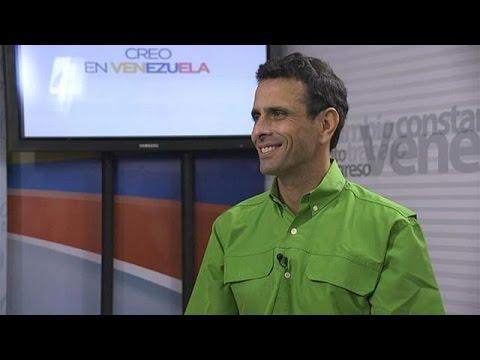 """Henrique Capriles: """"Venezuela no tiene futuro con Maduro"""""""
