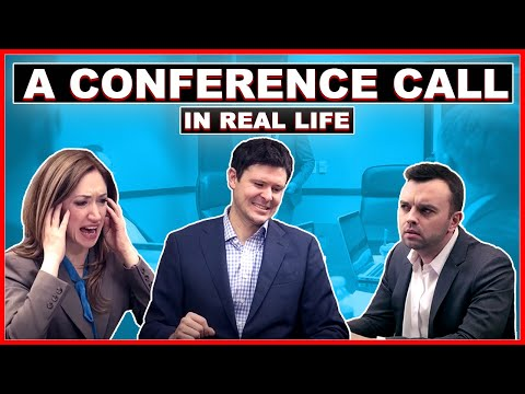 A Conference Call In Real Life video