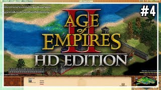 Age Of Empires 2: Gameplay #4 - William Wallace Tutorial