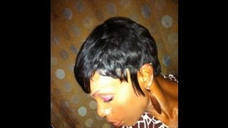 27 Piece Quick Weave Short Hairstyle