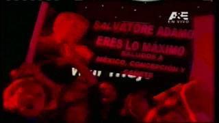 Salvatore Adamo en Viña 2012 - Parte 3 de 5 - HQ - High definition -HD