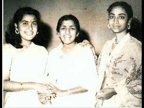 Geeta Dutt Lata Mangeshkar : Oonchi neechi raahein : Film -...