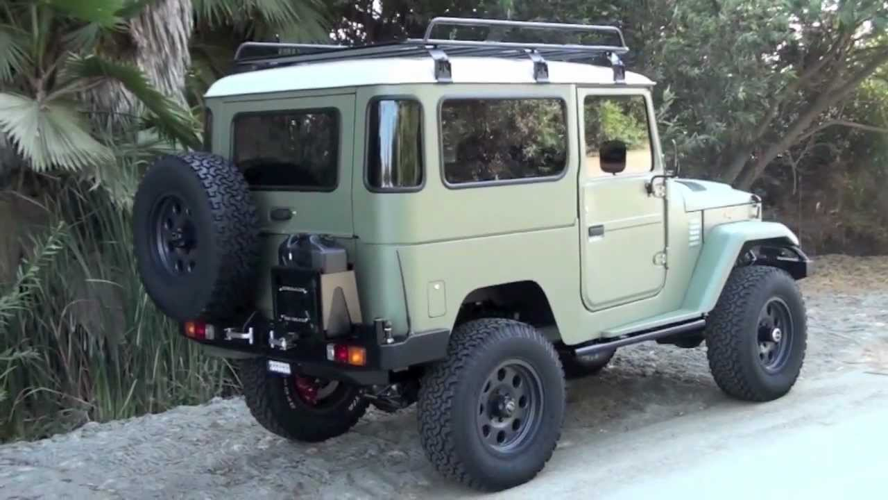New School Icon Hard Top Fj40 Just Completed Youtube