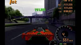 Gran Turismo 3 Arcade Mode Area D Tokyo Route 246 Reverse