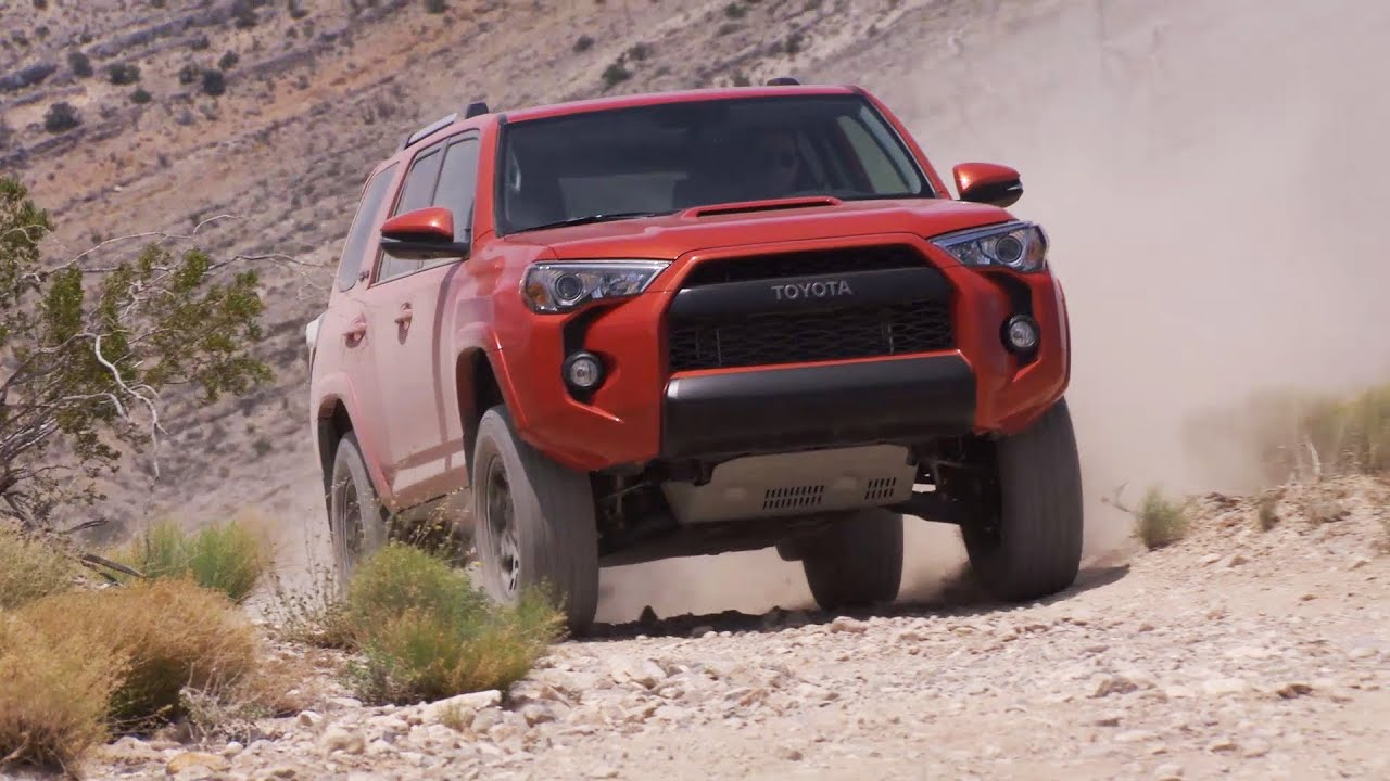 2015 Toyota 4runner Trd Pro Offroad Test Drive Youtube