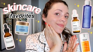 SKINCARE THAT ACTUALLY WORKS // glowy, anti-aging, even-tone products