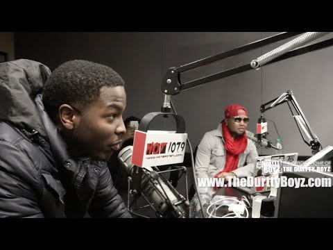 """Johnny Cinco Talks Beef with Rich Homie Quan, Subliminal Messages, & New Mixtape """"iSwear"""" W/ Durtty Boyz HOT 107.9"""