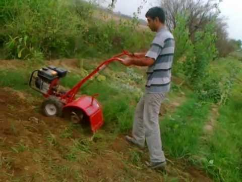Troy Bilt Mini Cultivator (rototiller) video