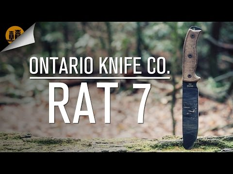 Ontario Knife Co. RAT 7   Survival Knife   Field Review