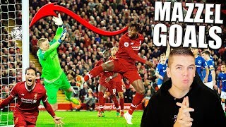 TOP 10 RAARSTE MAZZEL GOALS IN VOETBAL!!