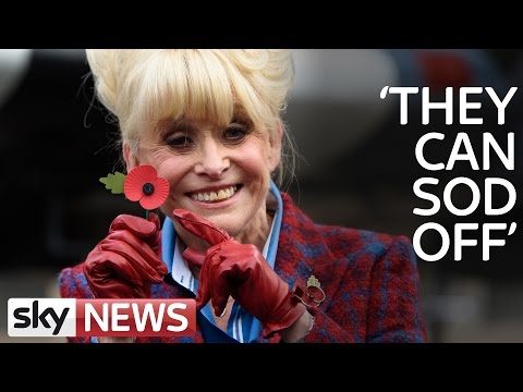 Barbara Windsor's Message To People Who Don't Wear Poppies