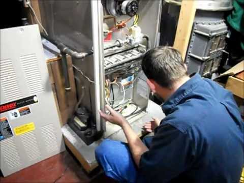 RicksDIY How To Wire Your Gas Furnace To A Generator.wmv