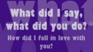 Backstreet Boys - How Did I Fall In Love With You (lyrics)