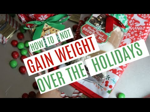 How NOT To Gain Weight Over The Holidays | #5/12 Days of VLOGMAS 2017