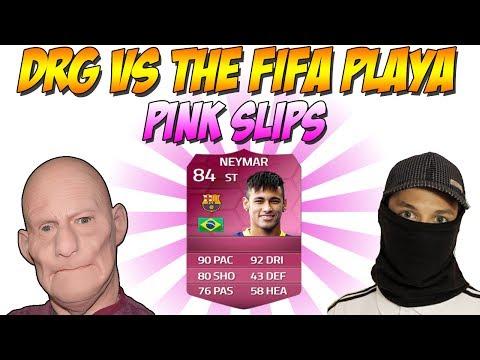 FIFA 14 NEYMAR PINK SLIPS VS THE FIFA PLAYA!!